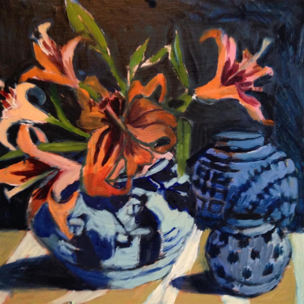 """""""Strong Light"""" original fine art by Pamela Hoffmeister"""