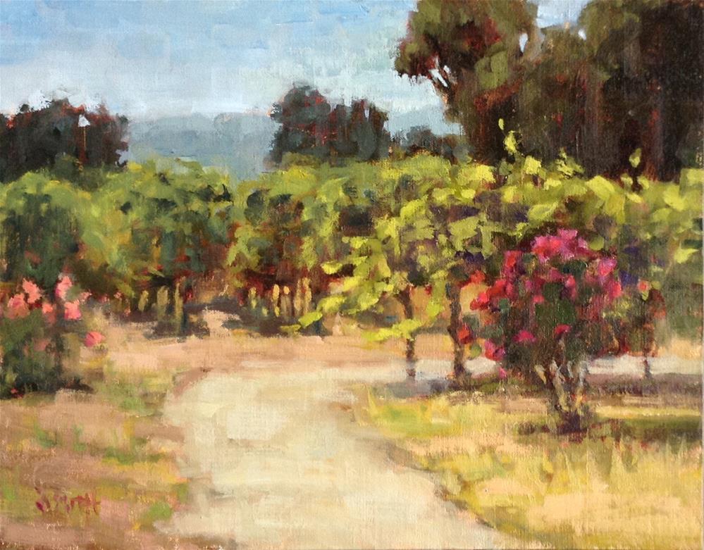 """""""Jessie's Grove"""" original fine art by Barbie Smith"""