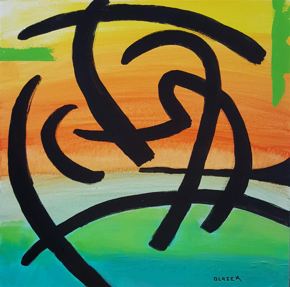 """Zen"" original fine art by Stuart Glazer"
