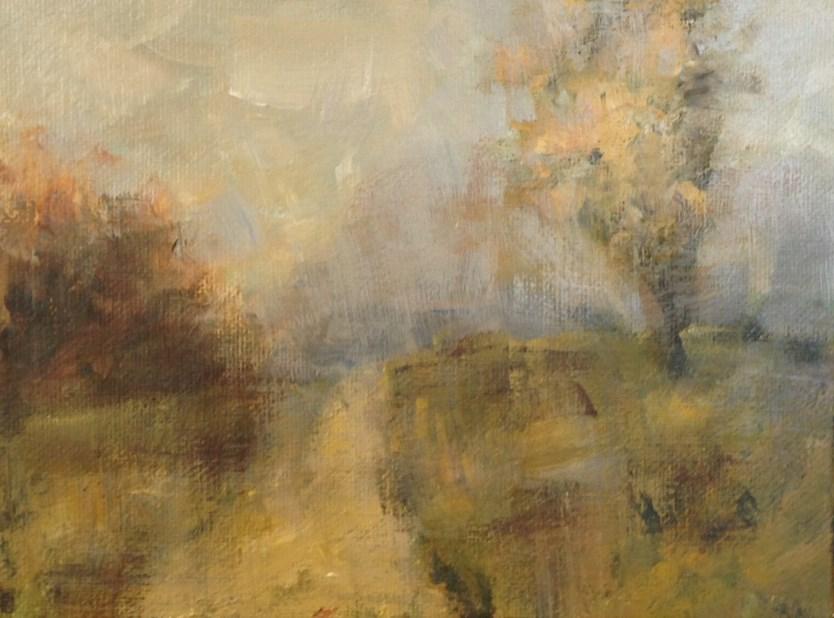 """""""Sunday Mist"""" original fine art by Shannon Bauer"""