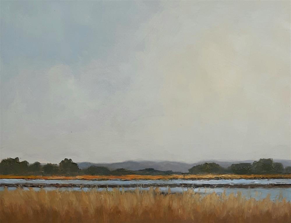 """Late Summer Sky"" original fine art by Karen Johnston"