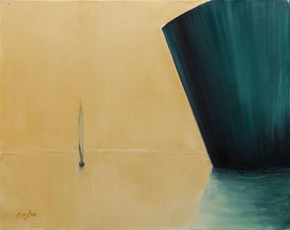 """Golden Harbor"" original fine art by Angela Ooghe"