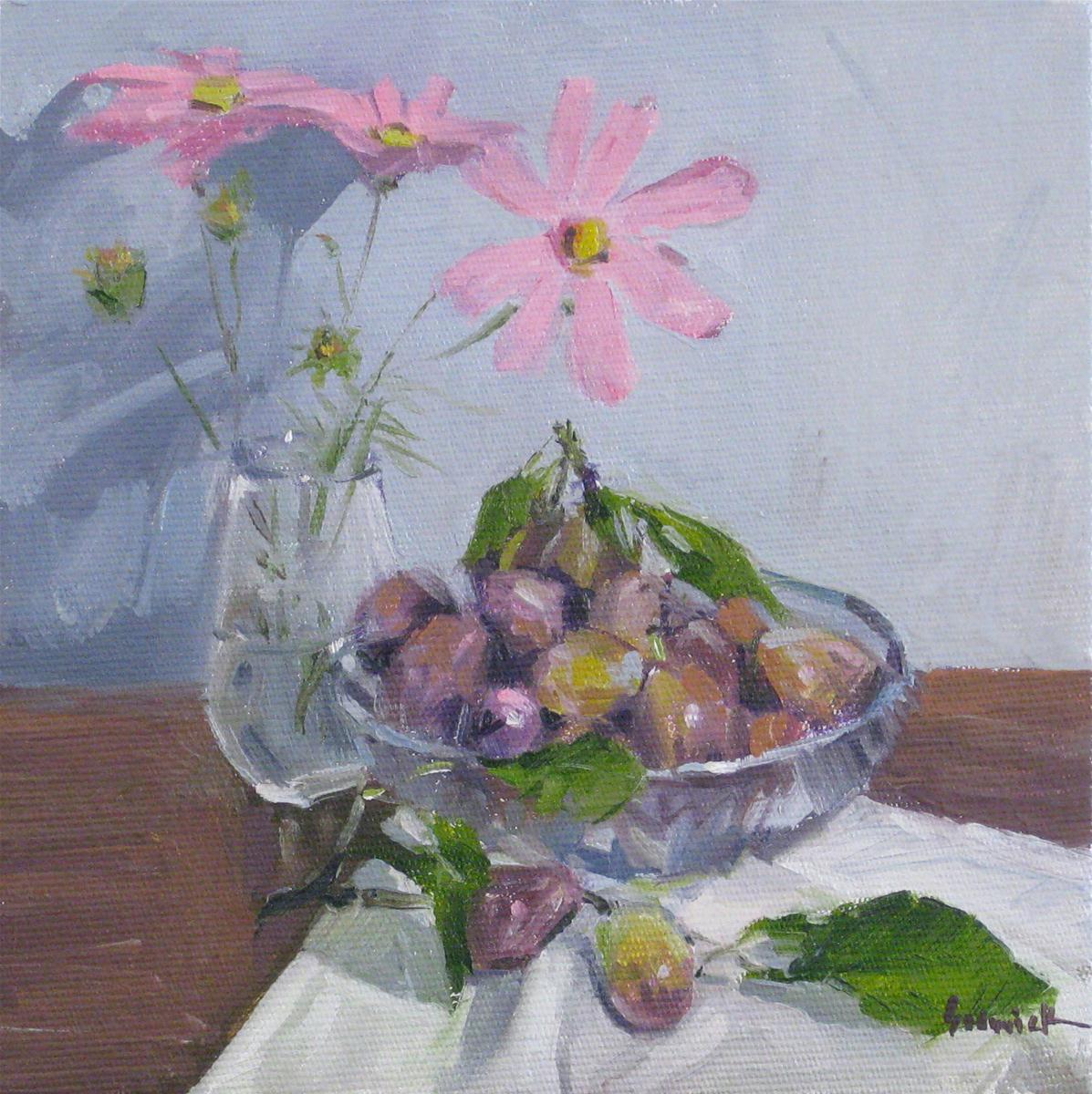 """September Plums"" original fine art by Sarah Sedwick"