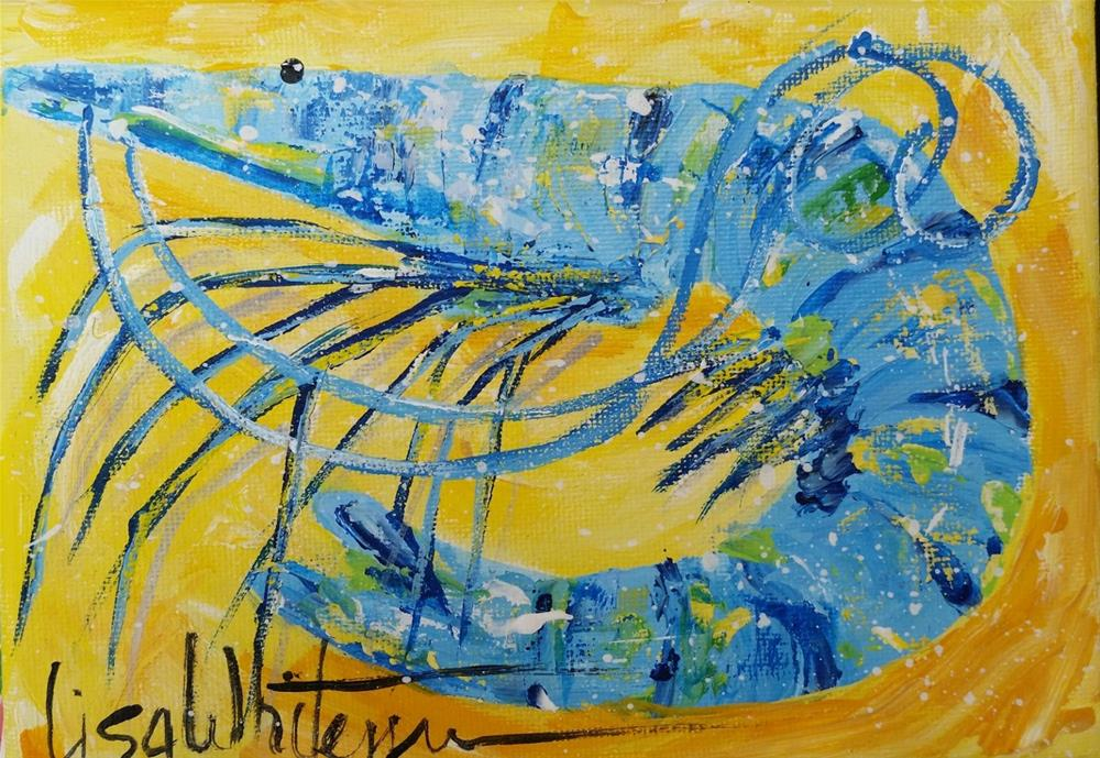"""50 - Creole"" original fine art by Lisa Rogers"