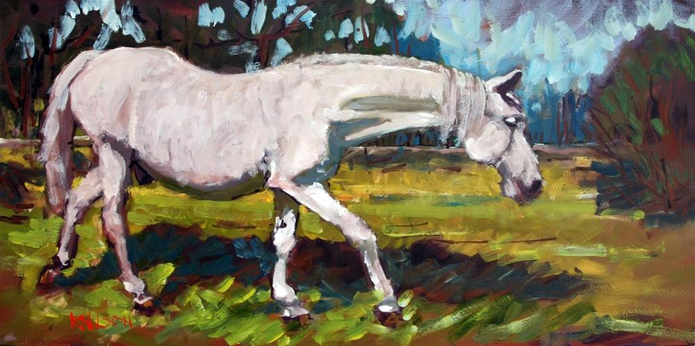 """The Original Horse of a Different Color"" original fine art by Rick Nilson"