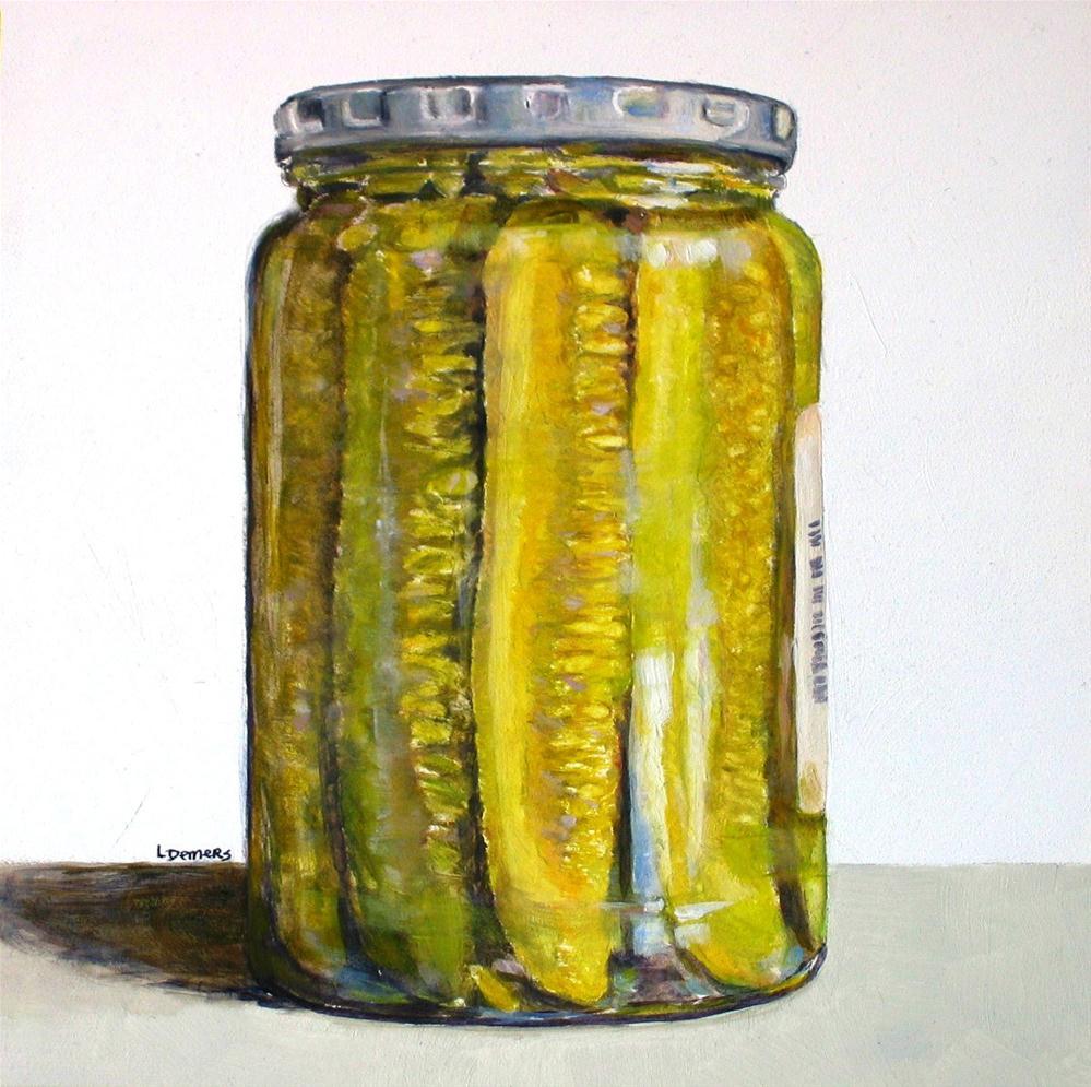 """Pickle Spears"" original fine art by Linda Demers"