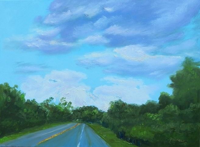 """""""God Reveals Himself through Nature"""" original fine art by Sue Furrow"""