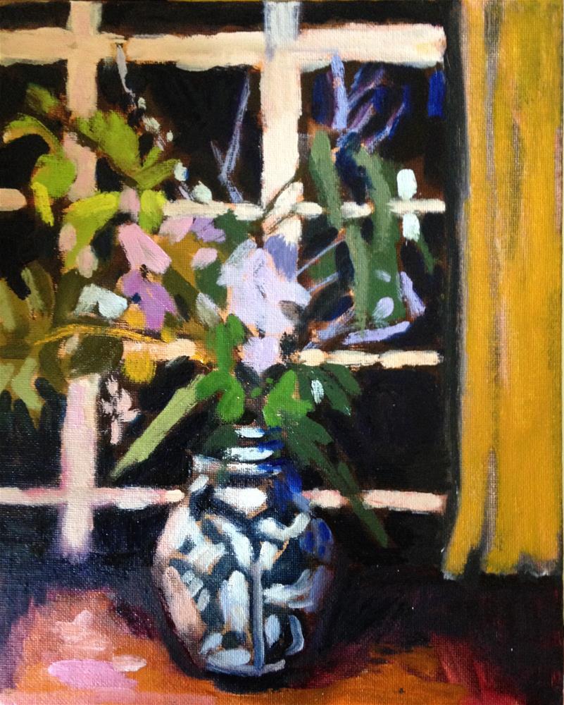 """Eulogy II"" original fine art by Pamela Hoffmeister"