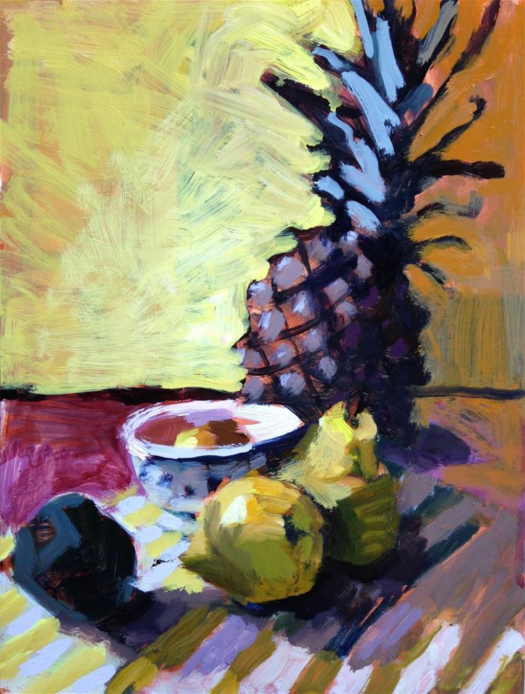 """Hospitality I"" original fine art by Pamela Hoffmeister"