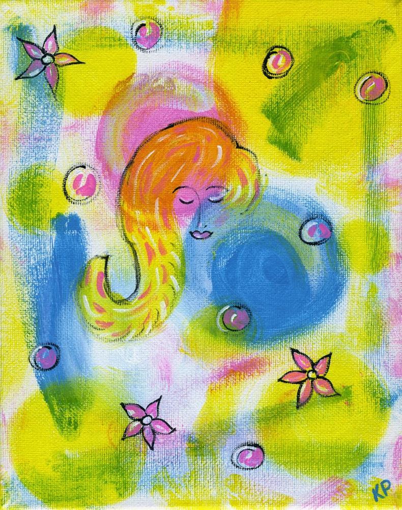 """Some Like it Hot"" original fine art by Kali Parsons"