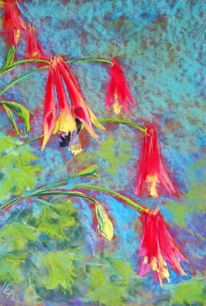 """Colum-bee"" original fine art by Anna Lisa Leal"