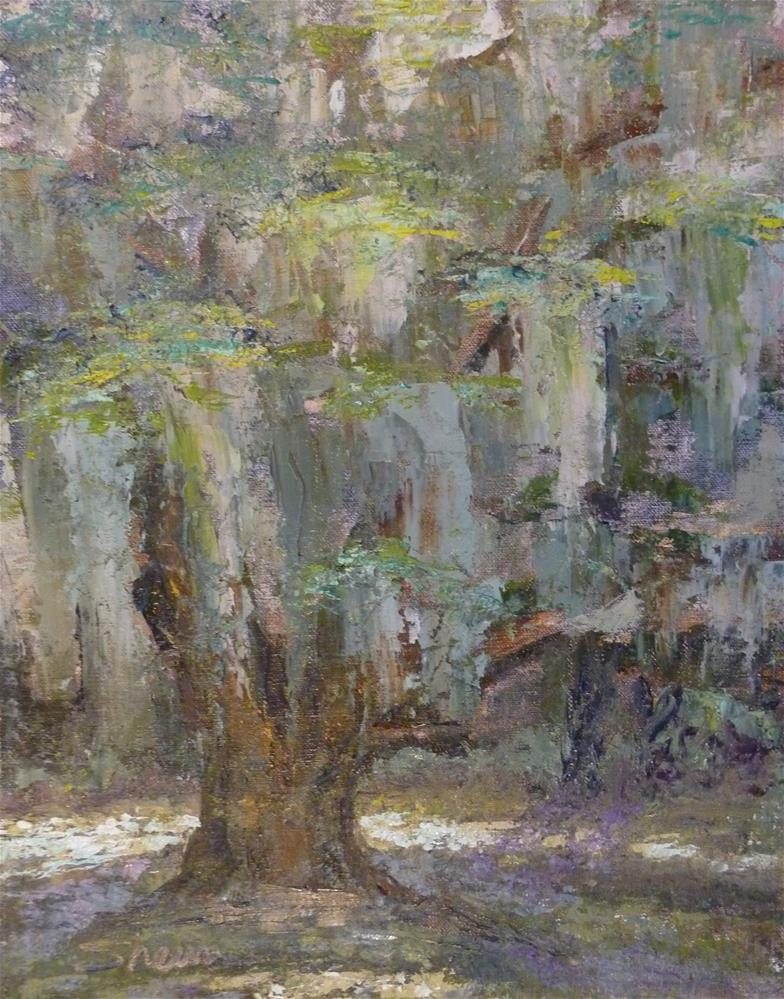 """Live Oak"" original fine art by Shawn Deitch"