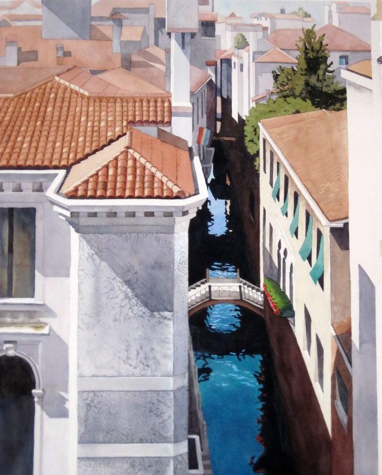 """Texture in Venice"" original fine art by Sally Baca"