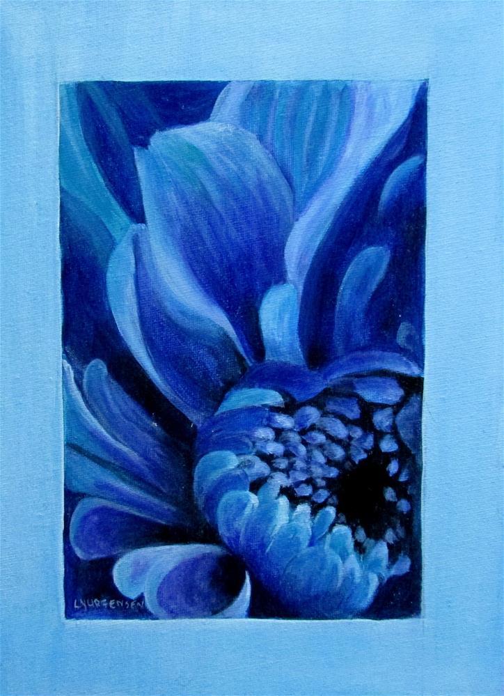 """9 x 12 inch acrylic Beauty"" original fine art by Linda Yurgensen"