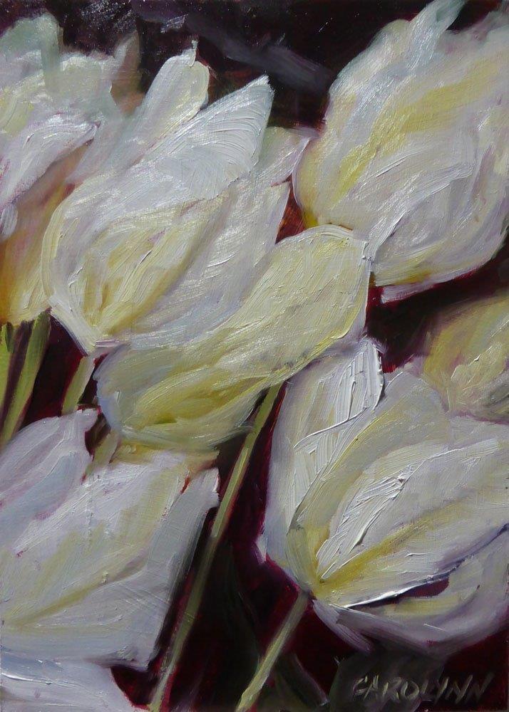 """Leaning Toward The Light"" original fine art by Carolynn Doan"