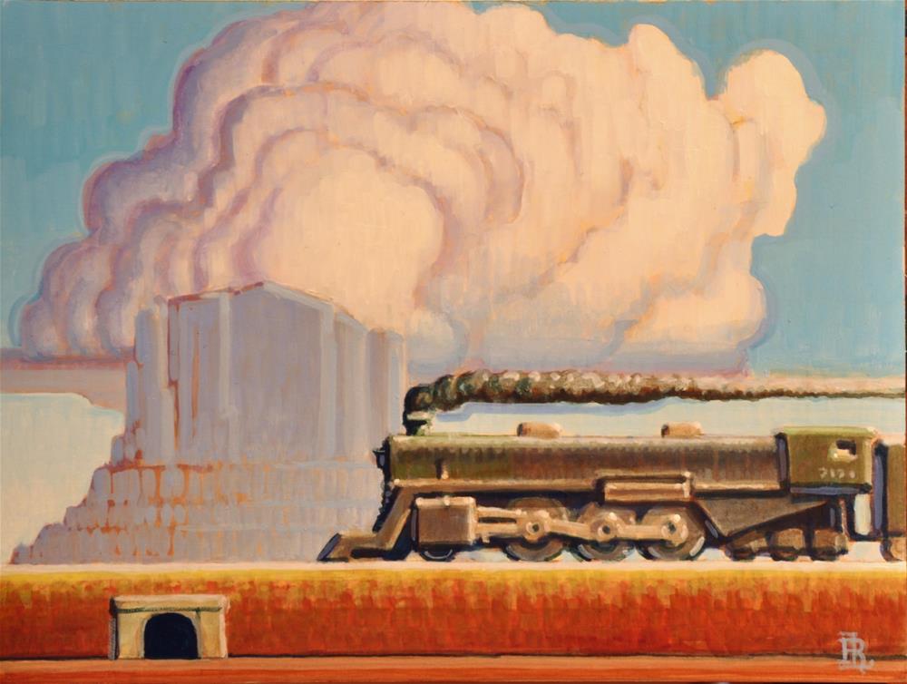 """Monolith"" original fine art by Robert LaDuke"