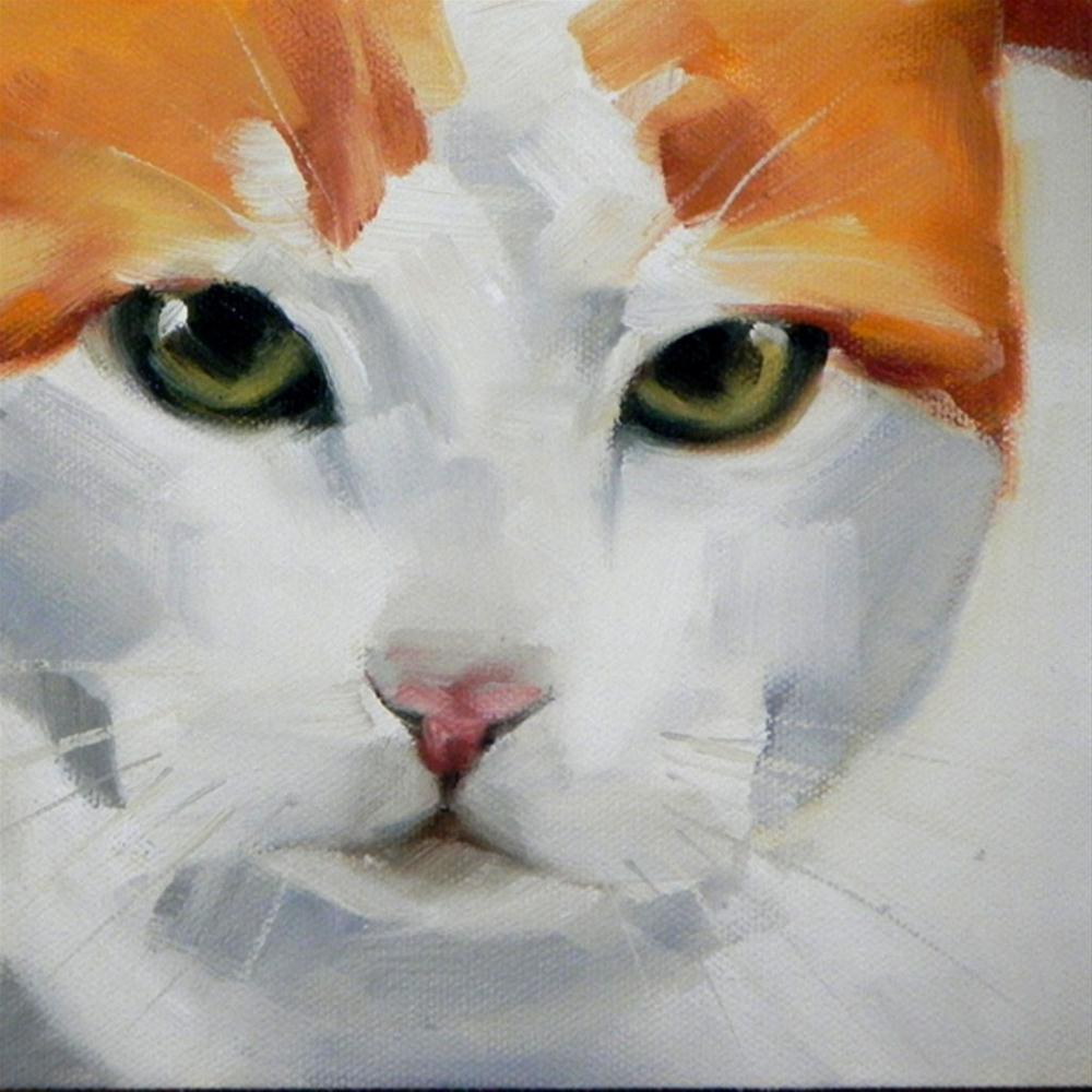 """Pablo Close Up"" original fine art by Cheryl Wilson"