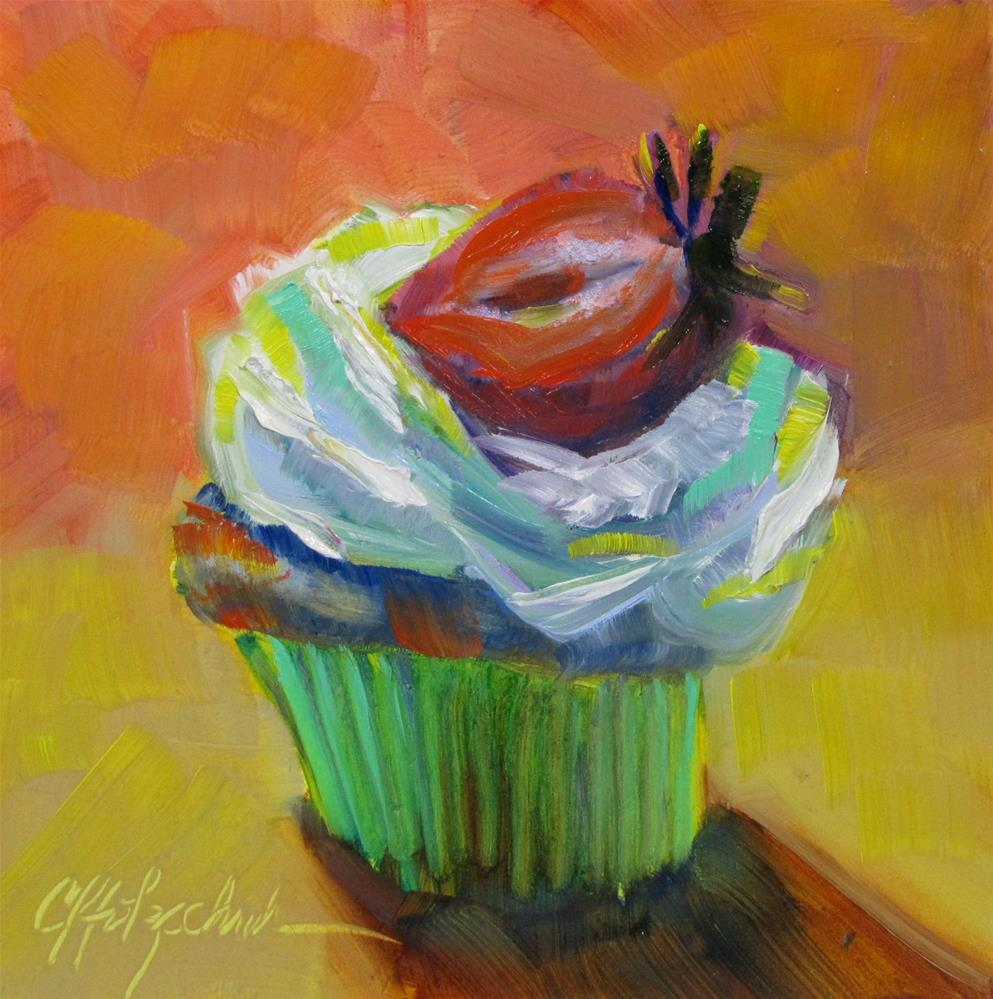 """Odd Colors"" original fine art by Christine Holzschuh"