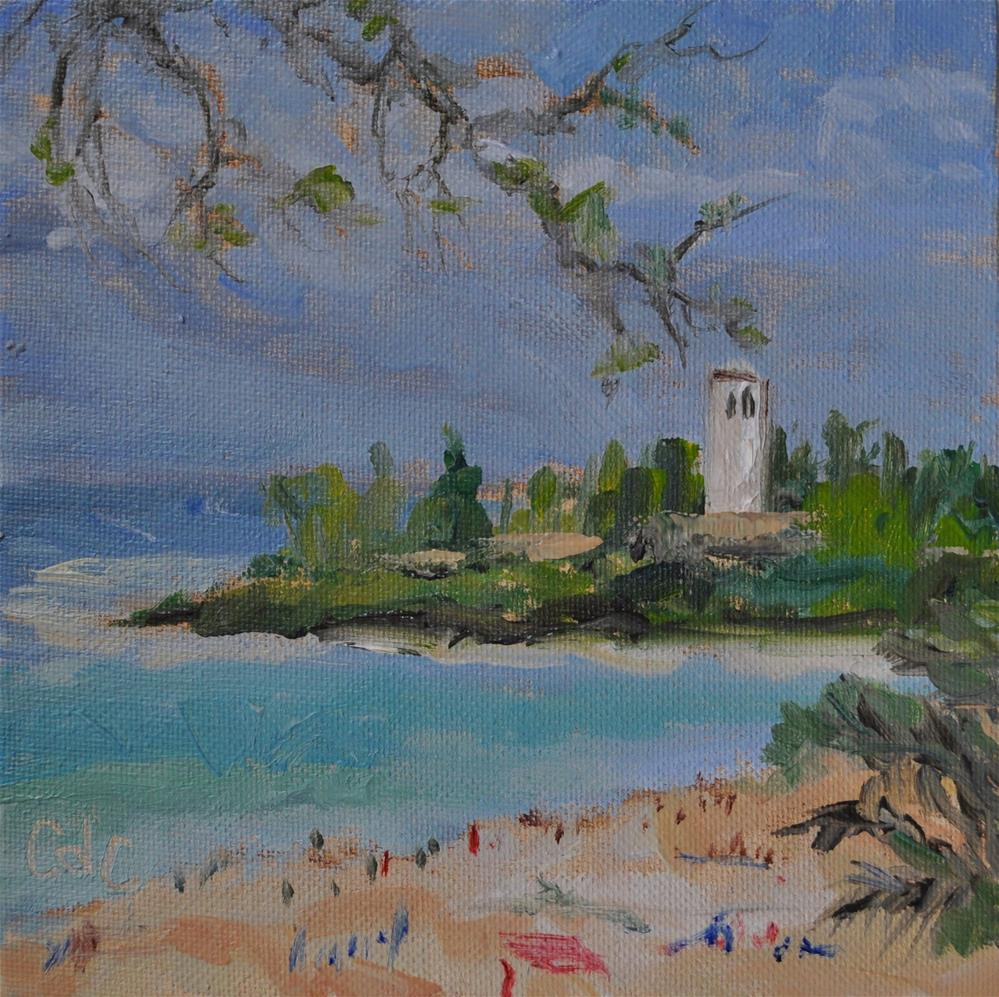 """The Beach Front"" original fine art by Catherine Crookston"