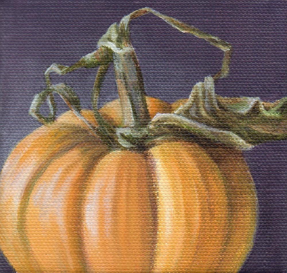 """""""Autumn Gift"""" original fine art by Debbie Shirley"""