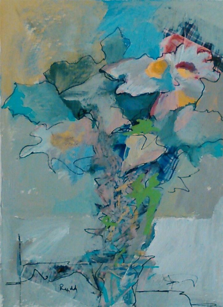 """Bundle of Daisies"" original fine art by Ann Rudd"