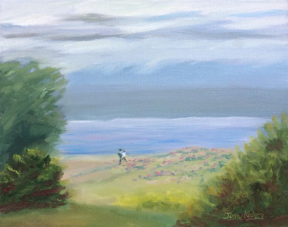"""Solitaire"" original fine art by Jenny Kinberg"