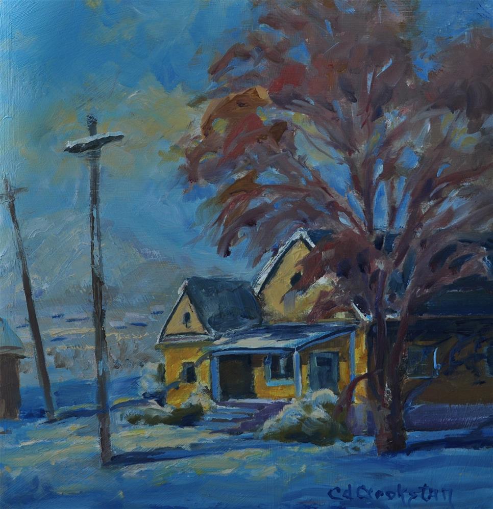 """Evenings Shadows"" original fine art by Catherine Crookston"