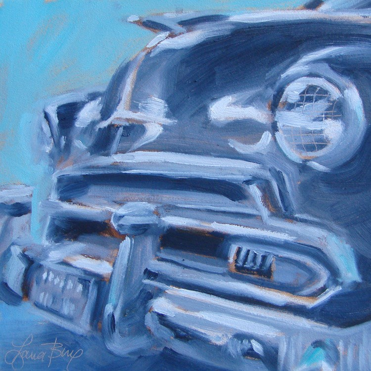 """""""Another Classic - 380"""" original fine art by Laura  Buxo"""
