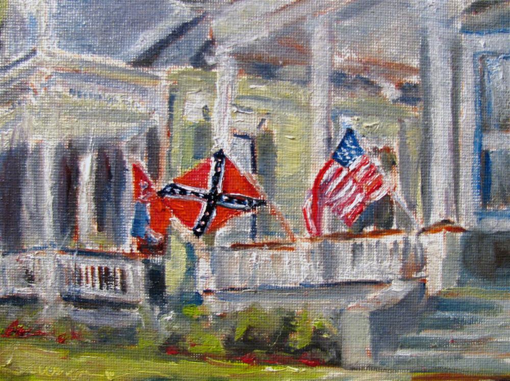 """A Southern Home"" original fine art by Susan Elizabeth Jones"