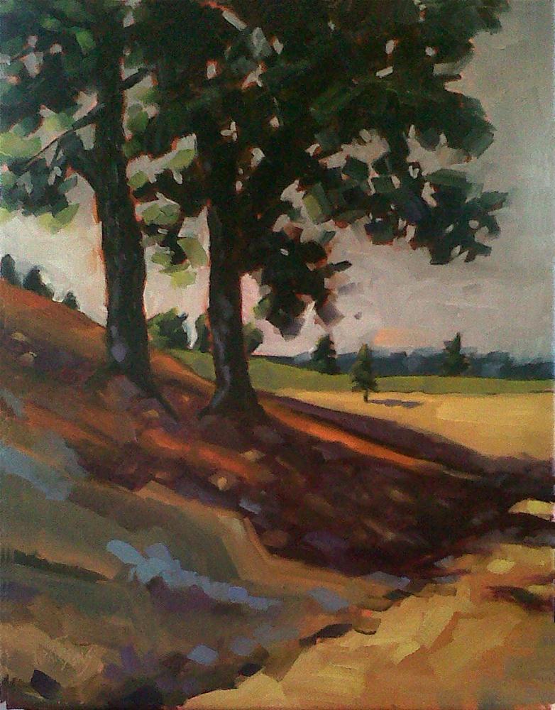 """Light Into Darkness"" original fine art by Nancy Parsons"