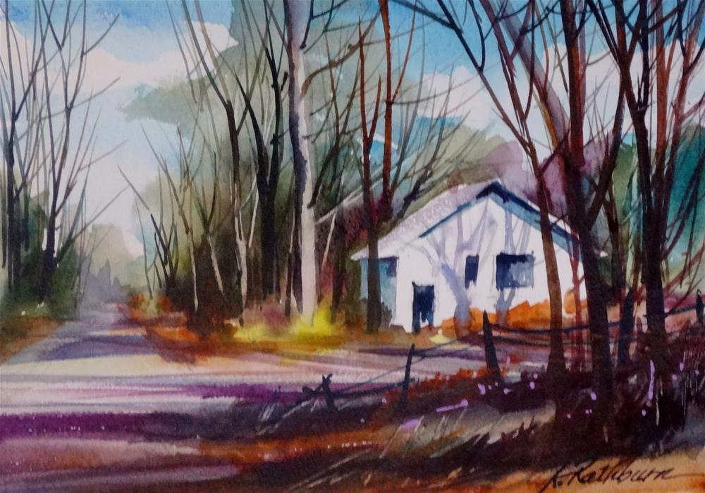 """Beverly Shore demo"" original fine art by Kathy Los-Rathburn"
