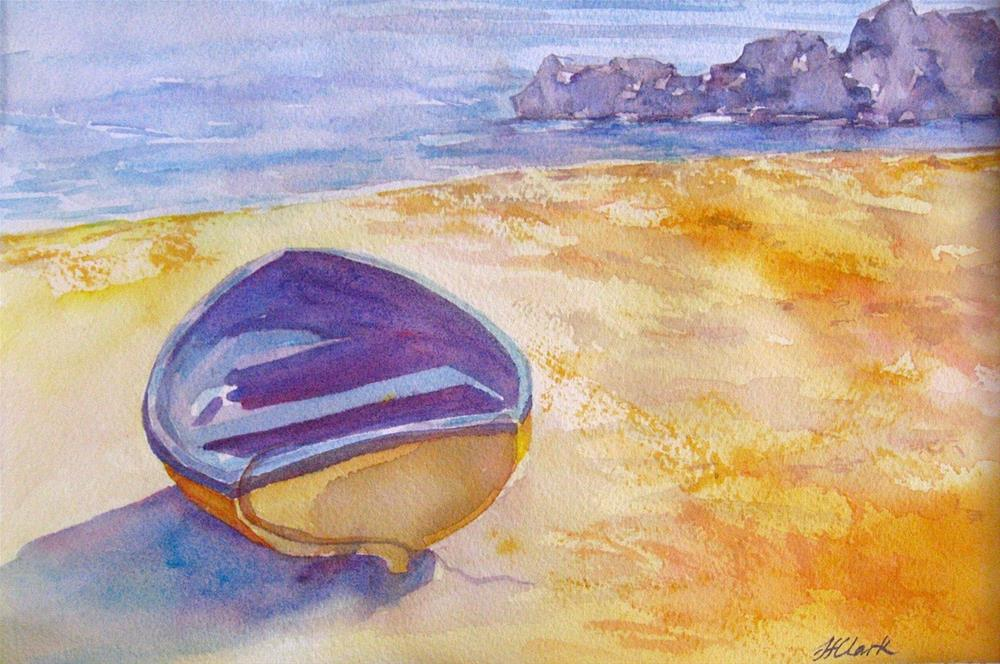 """High and Dry"" original fine art by Judith Freeman Clark"