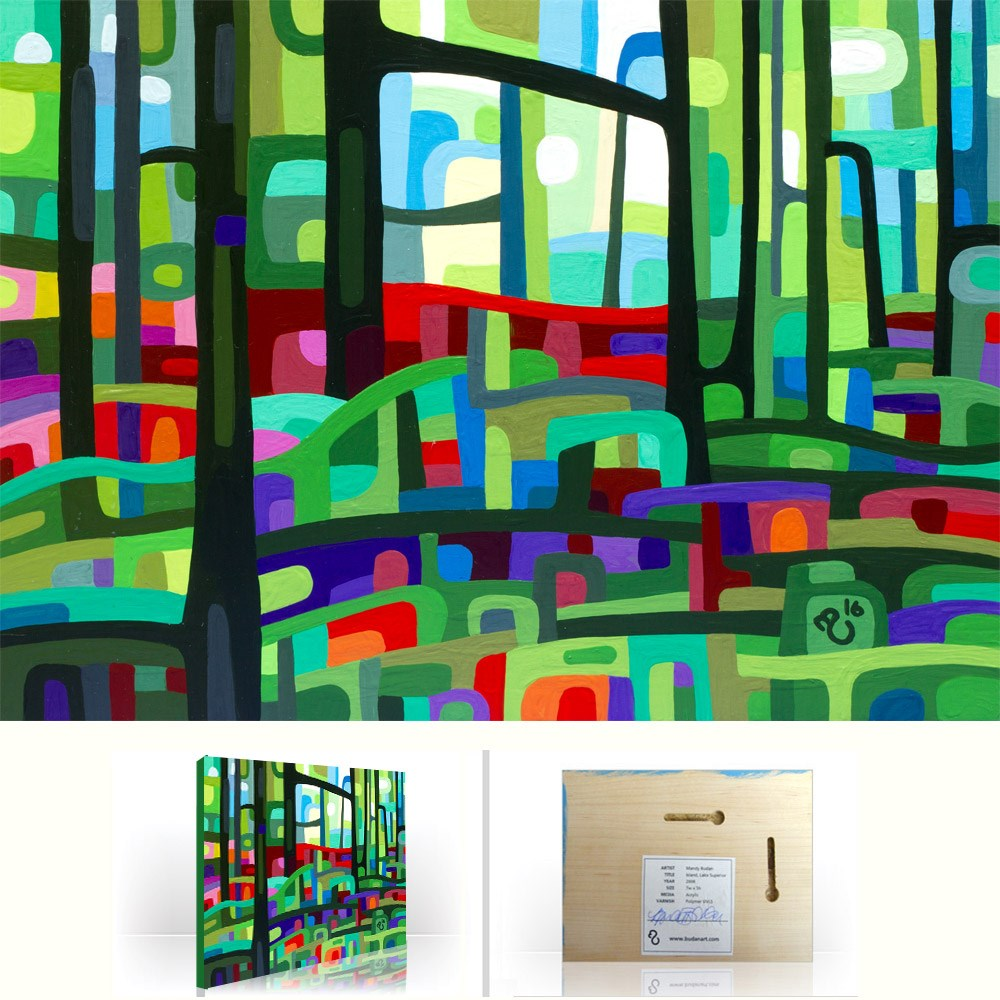 """Landscape Study #95"" original fine art by Mandy Budan"