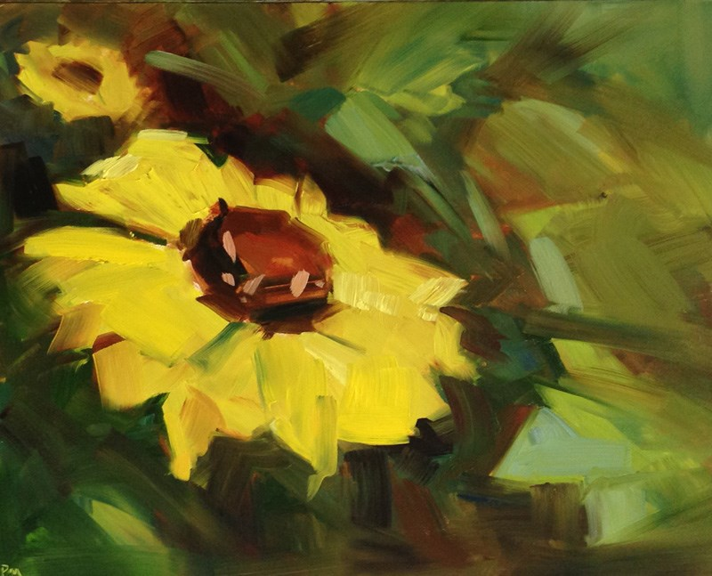 """Balsam Root Blossoms"" original fine art by Patti McNutt"