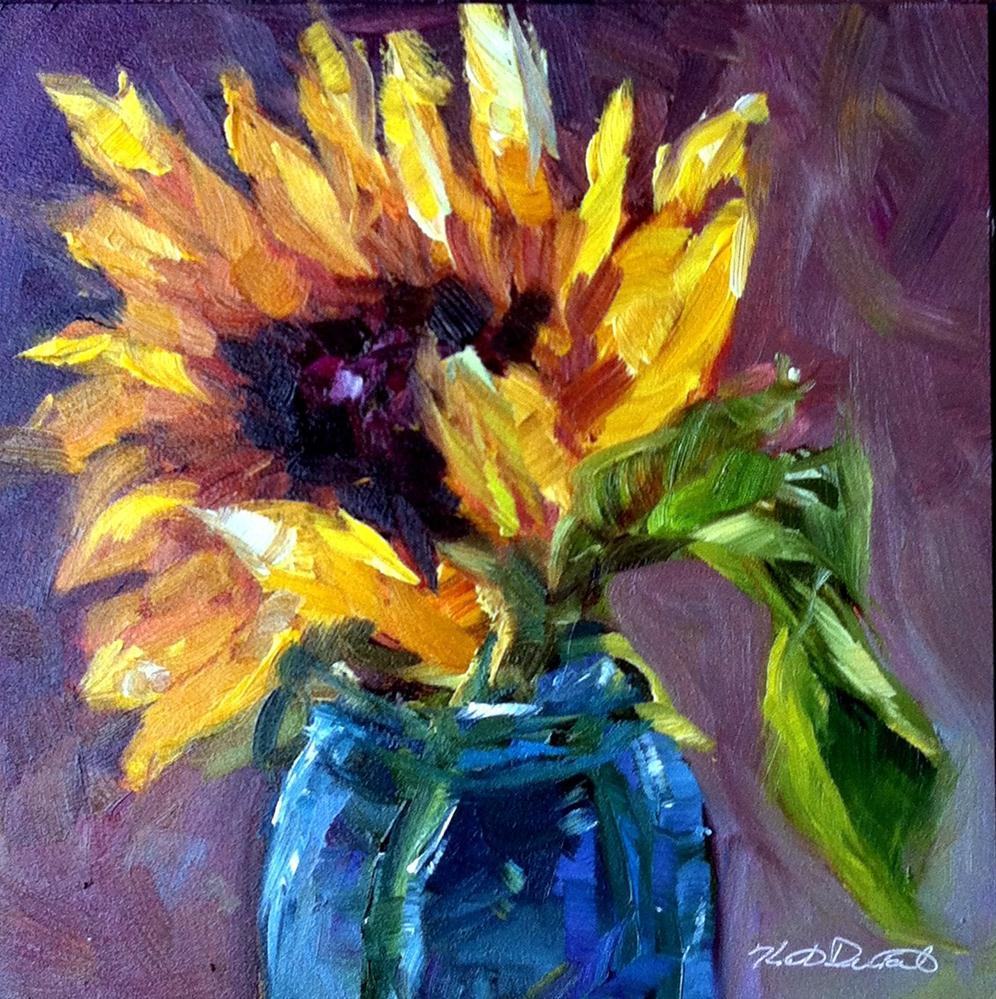 """Sunny Days and Blooms"" original fine art by Kristen Dukat"