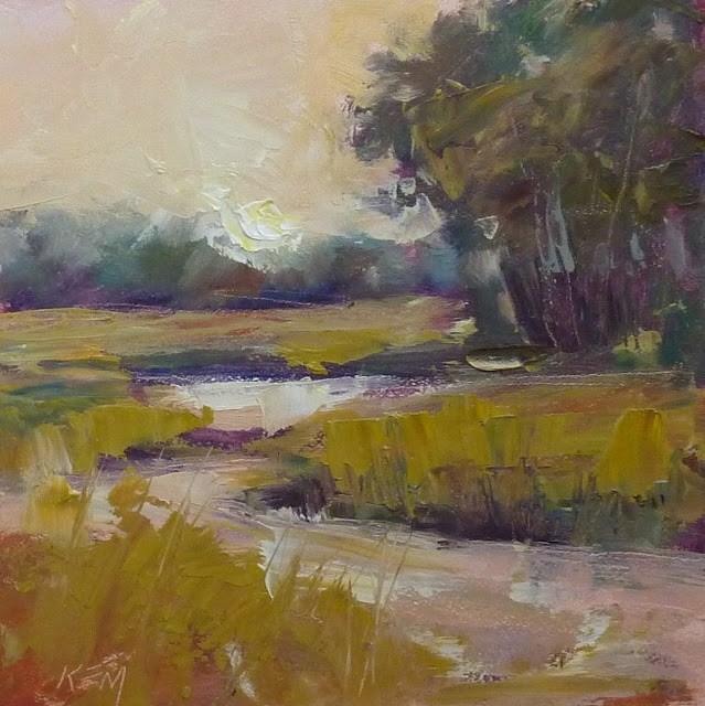 """Making Time for Quiet Contemplation"" original fine art by Karen Margulis"
