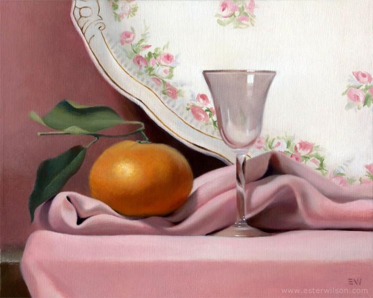"""Heirlooms"" original fine art by Ester Wilson"