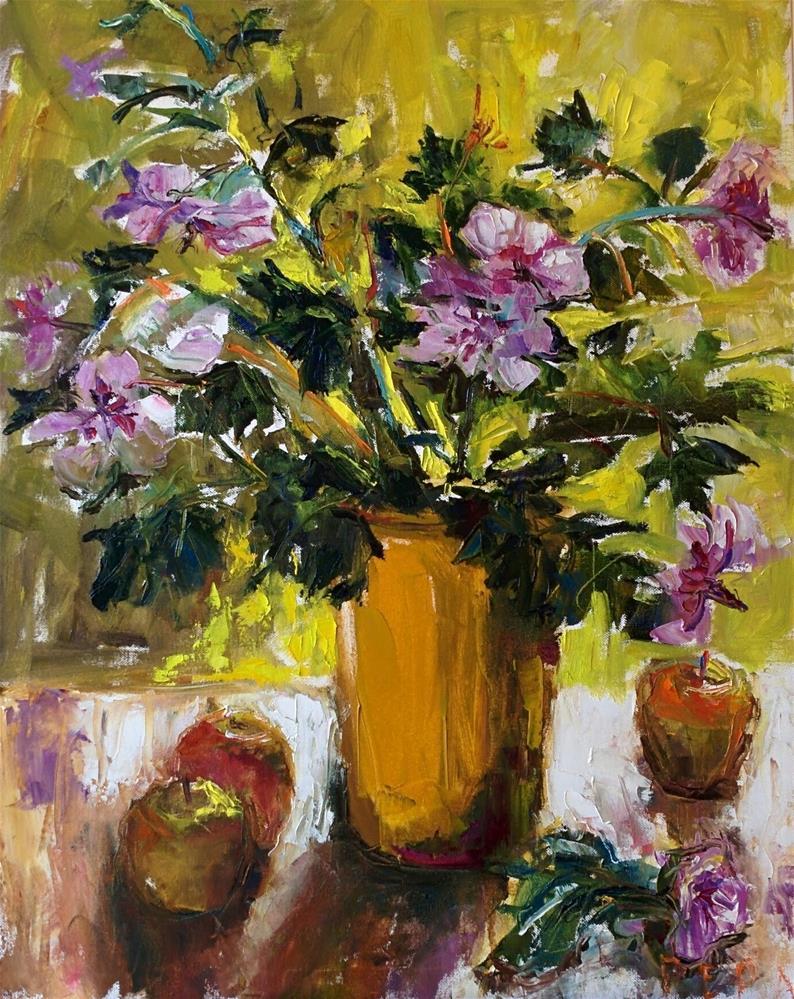 """Simple Bouquet"" original fine art by pepa sand"