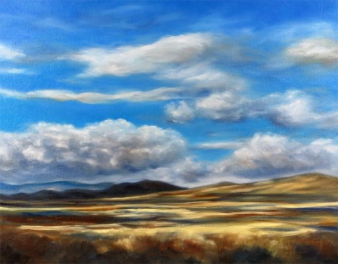 """""""Cloud Heaven"""" original fine art by Carol Zirkle"""