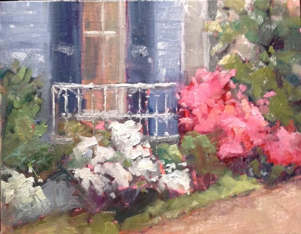 """May Flowers"" original fine art by Carol Josefiak"