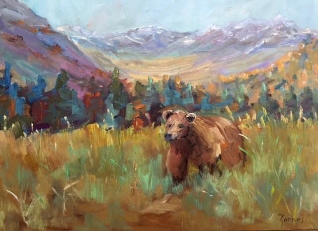 """Fall is Coming"" original fine art by Liz Zornes"