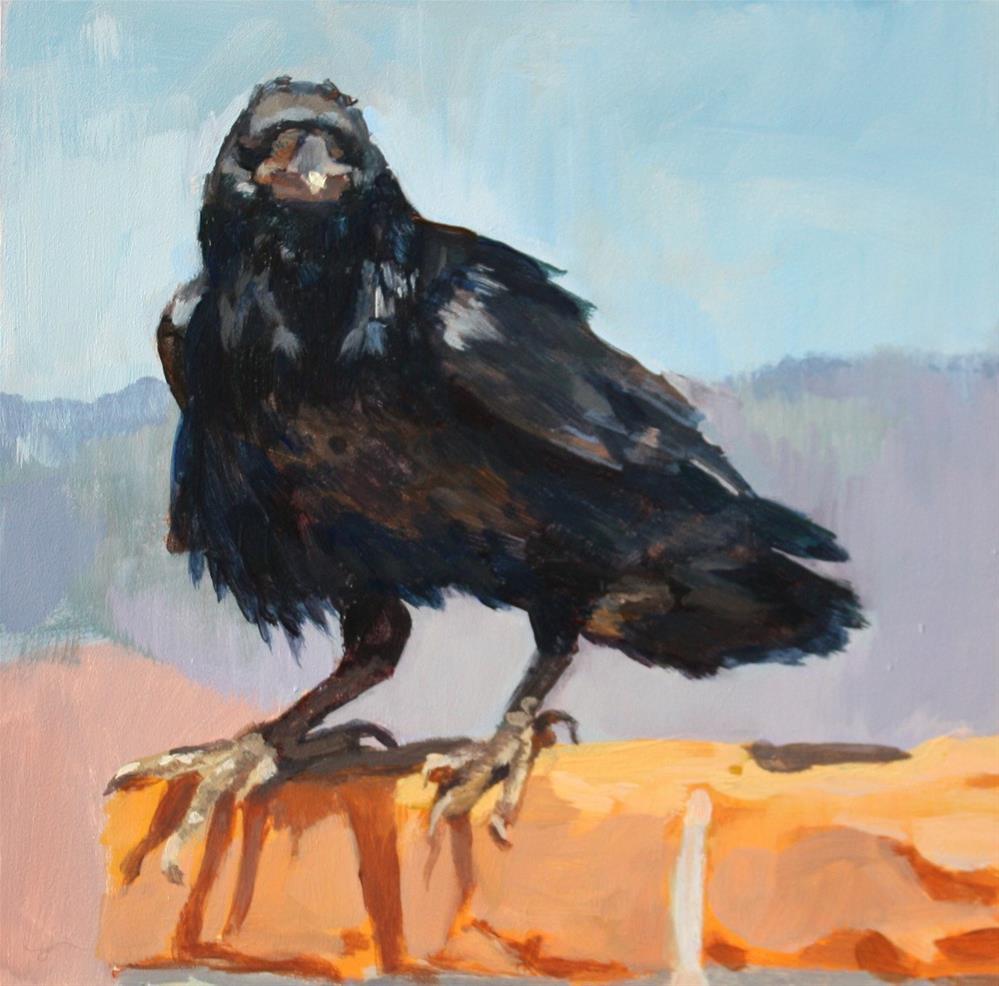 """""""The Observer"""" original fine art by Kaethe Bealer"""