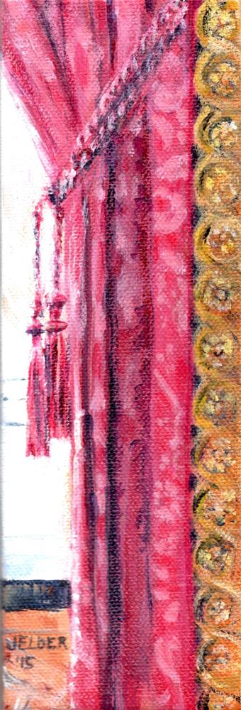"""Paris No. 69, Napoleon III's Draperies"" original fine art by Judith Elder"