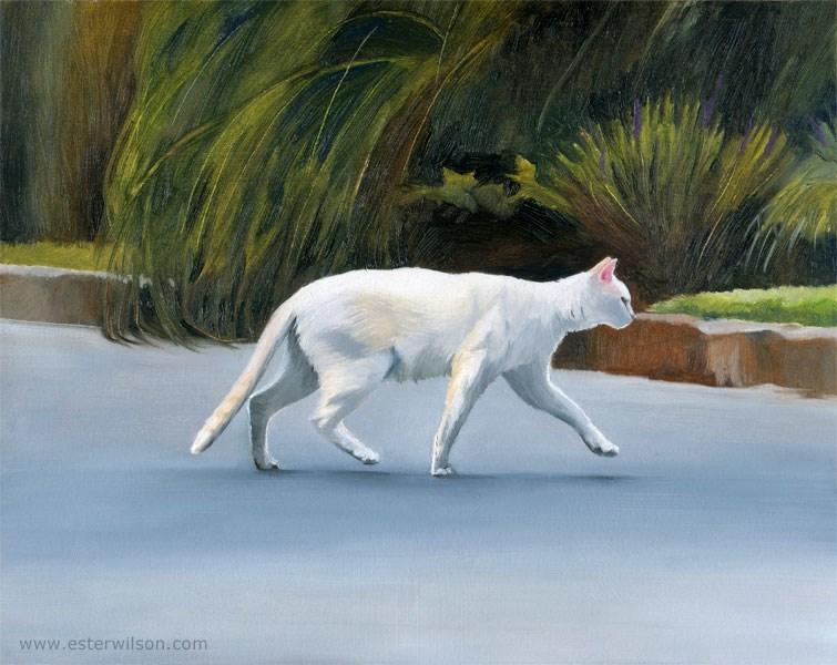"""On The Hunt"" original fine art by Ester Wilson"