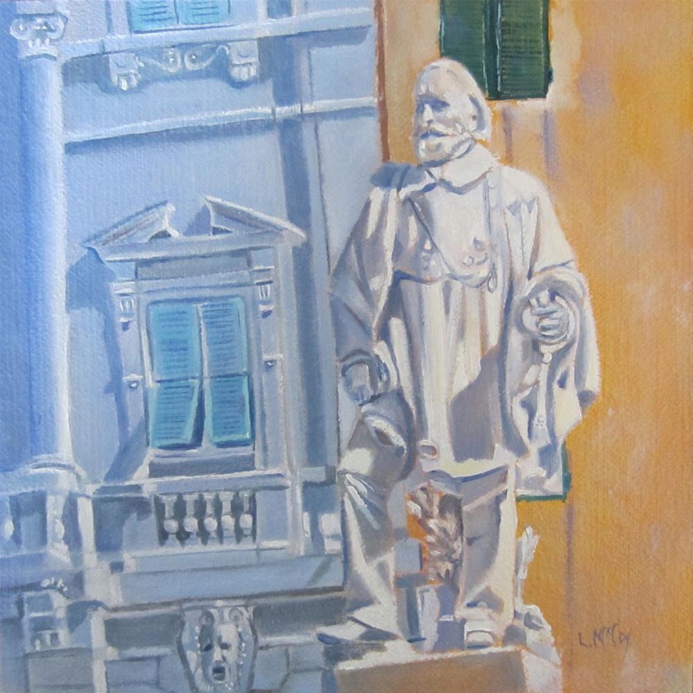 """Guiseppe Garibaldi, Oil Painting by Linda McCoy"" original fine art by Linda McCoy"