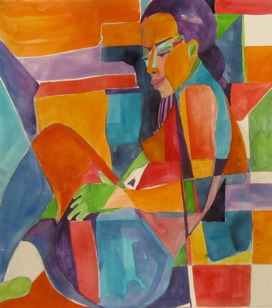 """Sketchbook Figure Study 1"" original fine art by Patricia MacDonald"