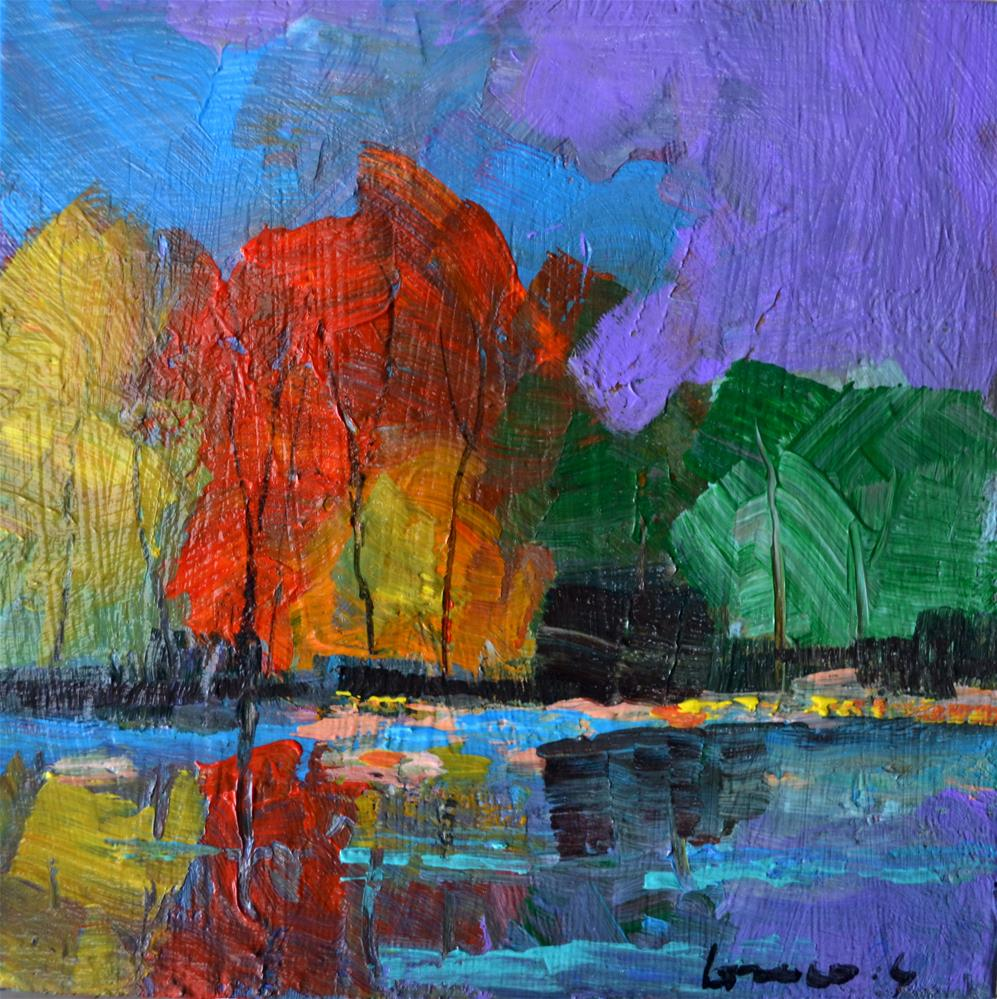"""""""On the waterfront"""" original fine art by salvatore greco"""