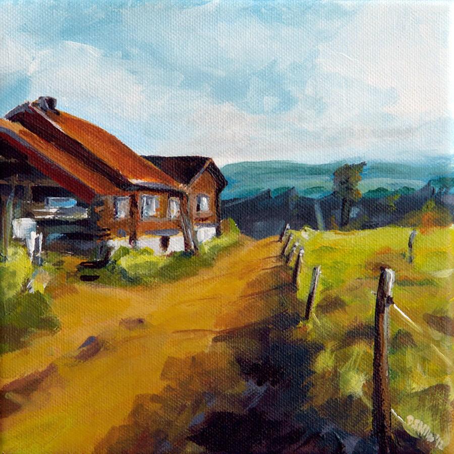 """""""0439 So far away"""" original fine art by Dietmar Stiller"""