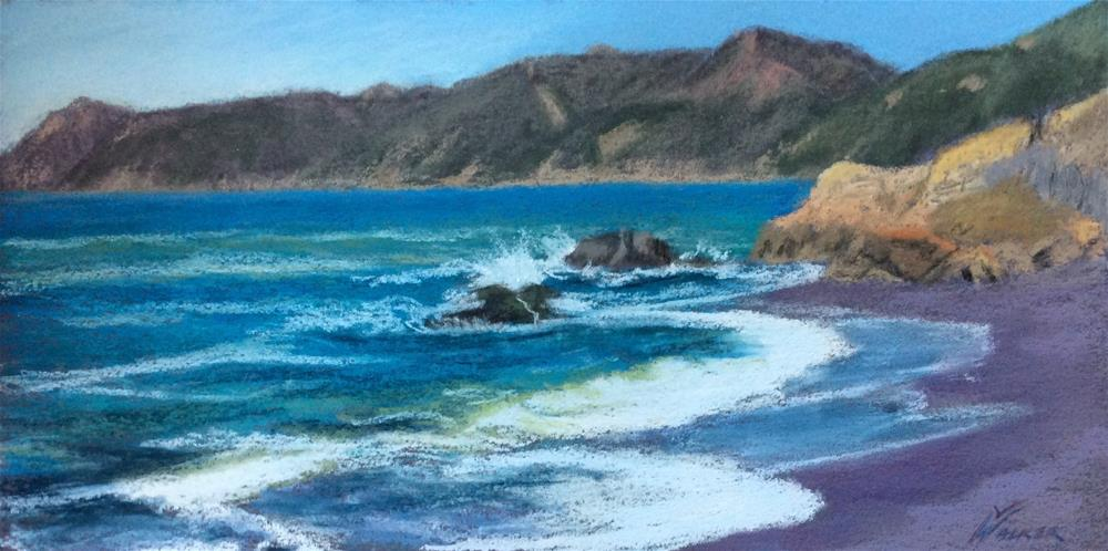 """THE EBB & FLOW"" original fine art by Marti Walker"