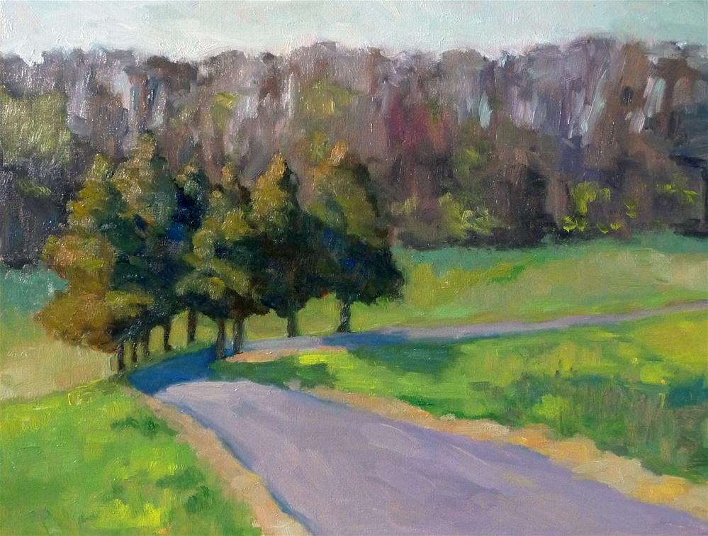 """Hints of Spring"" original fine art by Lisa Kyle"
